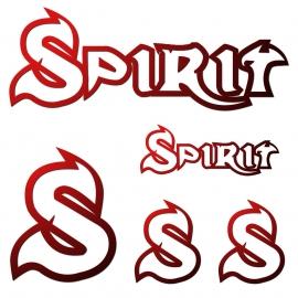 Samolepky Spirit